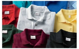 image of assorted-color, sports shirts or polo shirts
